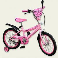 """Двухколесный велосипед Like2bike 16"""" 191628 Active Розовый"""