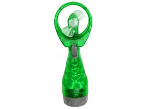Ручной вентилятор с увлажнителем Water Spray Fan Зелёный
