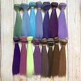 Волосся для ляльок (тресс) 15 * 100 см Колір 32, фото 2