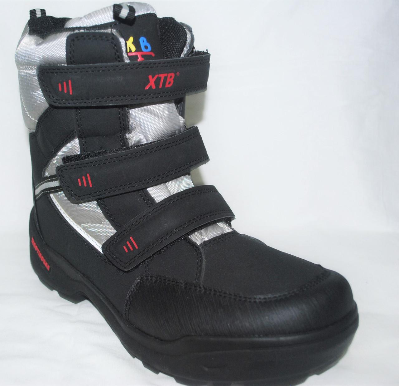 Ботинки зимние XTB с откидными шипами