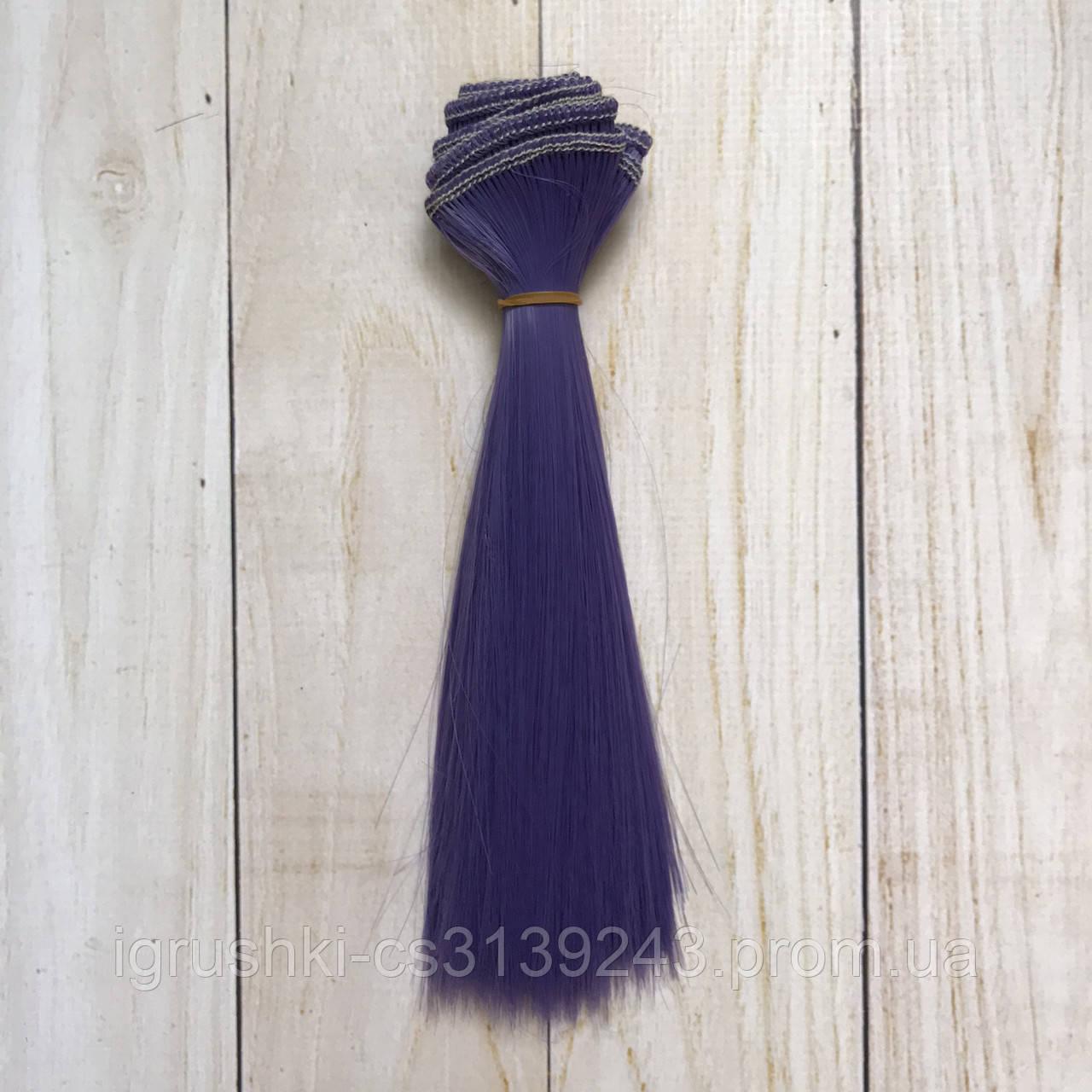 Волосся для ляльок (тресс) 15 * 100 см Колір 35