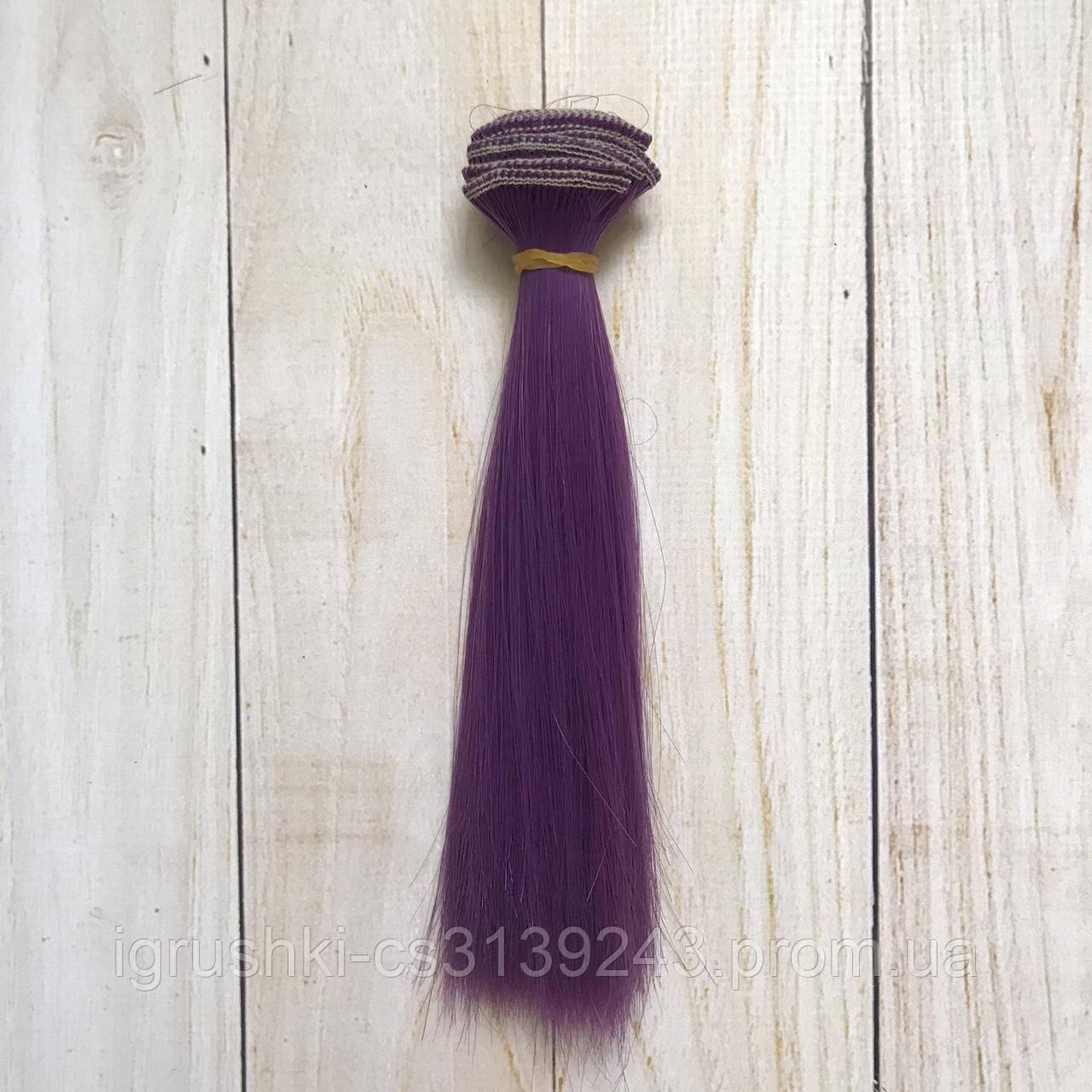 Волосся для ляльок (тресс) 15 * 100 см Колір 36