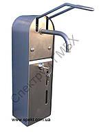 Локтевой дозатор жидкого мыла и дезинфицирующего средства из нержавейки, фото 1