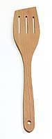 Лопатка кухонная, промасленная,с прорезями