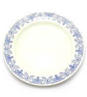 Тарелка фаянс Волна набор 6 штук