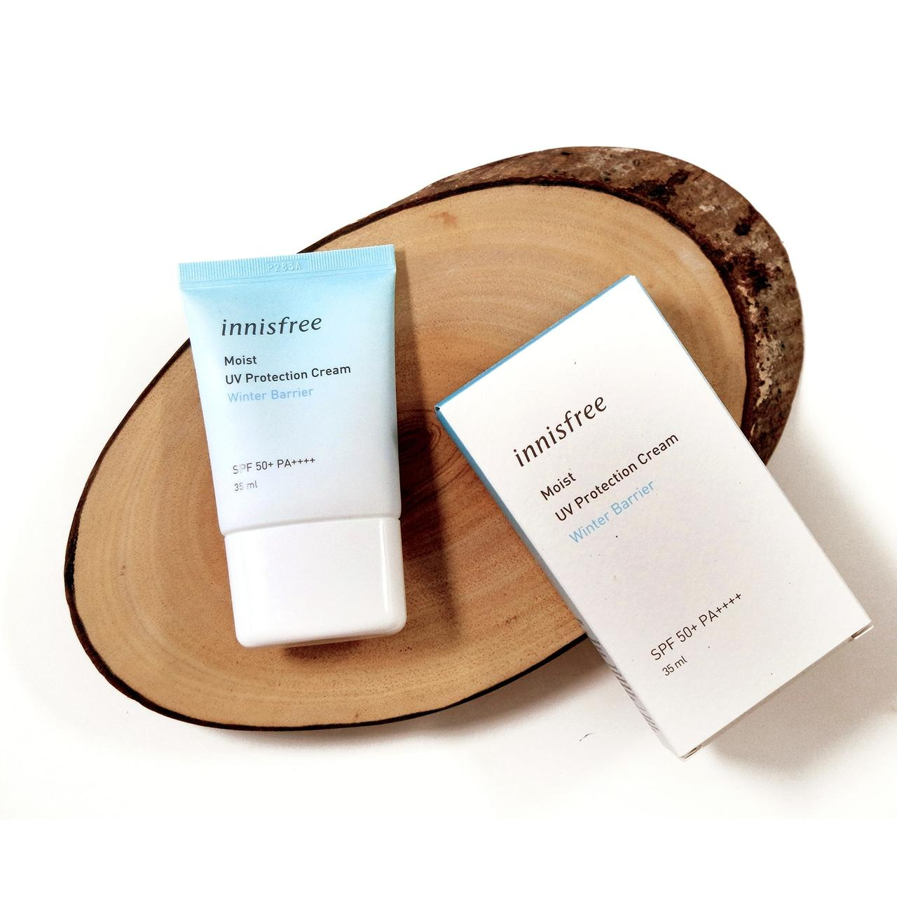 Солнцезащитный крем Innisfree Moist UV Protection Cream Winter Barrier SPF50+ PA++++