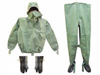 Рыбацкий костюм ОЗК ткань БЦК , армейский костюм Л1, улучшенный, оригинал, водонепроницаемый, размер 45-46