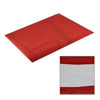 Пеньюар для стрижки с окошком 125Х145см (красный)