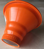 Воронка (лейка)  пластиковая с широким горлом на банку .