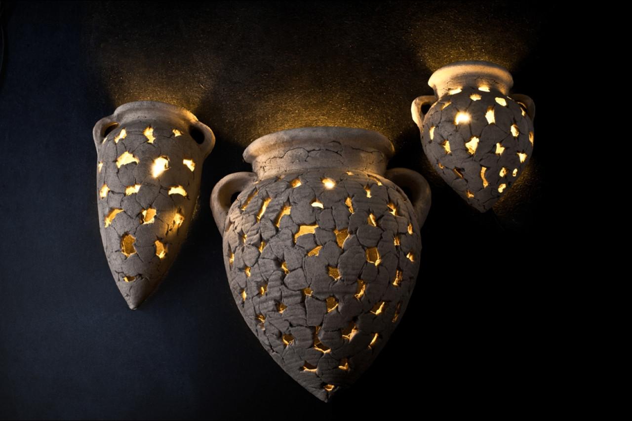 Світлодіодний світильник настінний декоративний Амфора