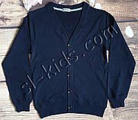 Кардиган FIGO для хлопчика 134-164 см (темно синій) (пр. Туреччина)