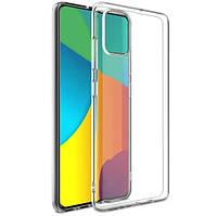 Чехол Ou Case для Samsung Galaxy A51 Unique Skid Silicone, Transparent, фото 1