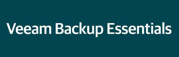 Veeam Backup Essentials Enterprise - Лицензия для двух сокетов Базовая поддержка на 1 год