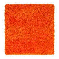 HAMPEN Ковер, длинный ворс, оранжевый