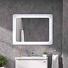 Зеркало Sanwerk ULTRA «Cosmo» 980 × 830 белое, фото 3