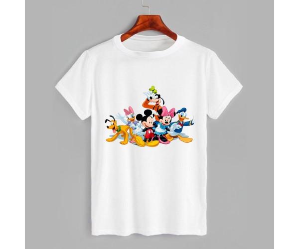 Футболка детская с принтом Mickey Mouse-4