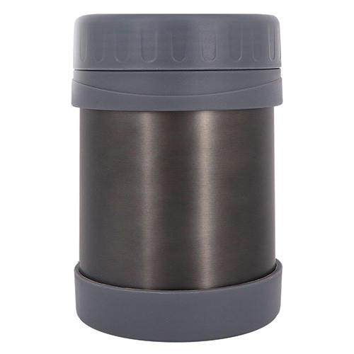 Термос харчовий з широким горлом STENSON Grafit 350 мл