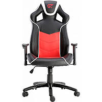 Геймерское кресло GT Racer X-2560 Black/White/Red, фото 1