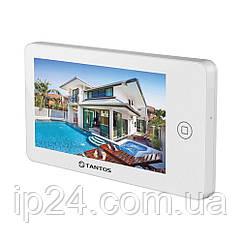 """Домофон Tantos Neo GSM 7"""" (White) с дозвоном на телефон"""