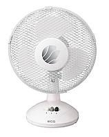 Вентилятор настольный ECG FT 23A 21 Вт Белый