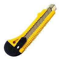 Нож сегментный Mastertool с кнопочным фиксатором