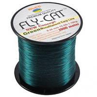 Леска карповая NTEC Fly Cat Green - 1000m (Monofilament Carp Line)