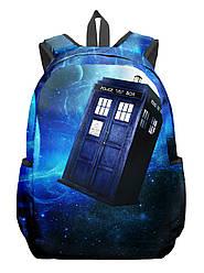 Рюкзак GeekLand Доктор Кто Doctor Who Летающий Тардис 24.Р