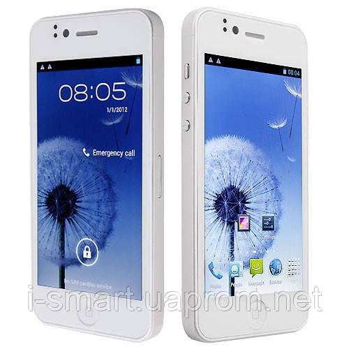 Smart Phone Android 4.0 MTK6577 Dual Core 3G GPS 4.0 Inch 8.0MP Camera