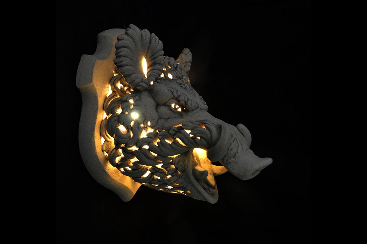 Світлодіодний світильник настінний декоративний ВЕПР