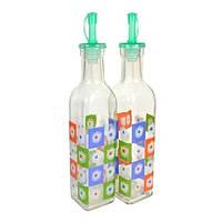 Набор бутылок для уксуса и масла с гейзерной пробкой 1855 (43-355)