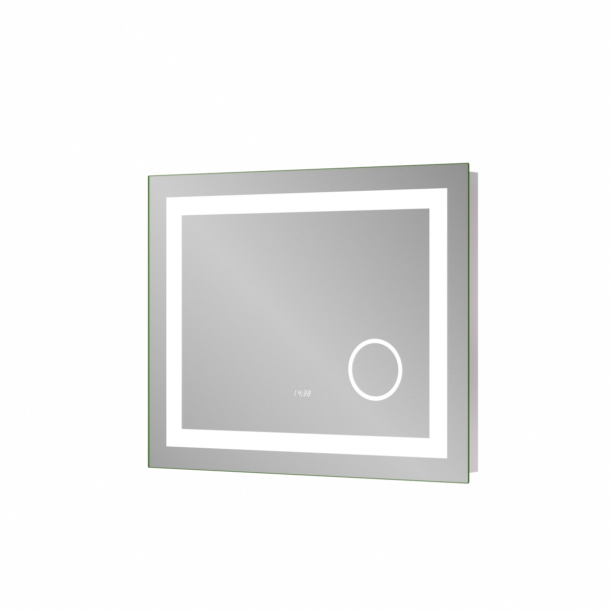 Зеркало Sanwerk ULTRA «Мега» 800 × 650