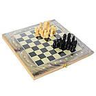 Шахи шашки, нарди дерев'яні Clasic 3 в 1, фото 2