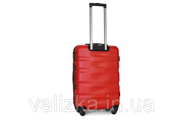 Средний пластиковый чемодан красный Fly 960, фото 2