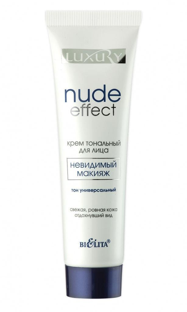 """Крем тональный для лица Nude Effect """"невидимый"""" макияж тон универсальный"""