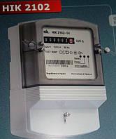 Счетчик учета электроэнергии однофазный NIK 2102 М1