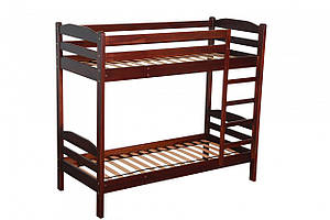 "Двухъярусная кровать ІМІЛАР ""Сиеста"" 1900х800  сосна, темный орех"
