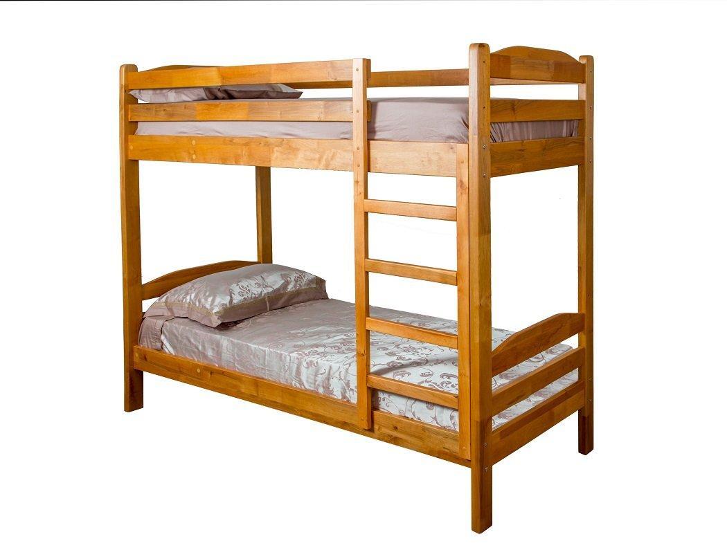 "Двухъярусная кровать ІМІЛАР ""Сиеста"" 1900х800  сосна, светлый орех"