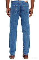 Джинсы Levi's 501 Original Fit Medium Stonewash Синие (005010193), фото 3