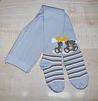 Колготки детские для малышей Duna светло-серый 86-92