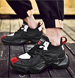 Кросівки чорні Lifefashion, фото 3