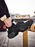 Кросівки чорні Lifefashion, фото 5