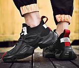 Кросівки чорні Lifefashion, фото 6