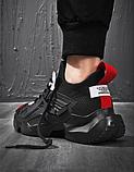 Кросівки чорні Lifefashion, фото 7