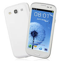 Smart Phone Android 4.0 MTK6577 Dual Core 3G GPS 4.7 Inch- White