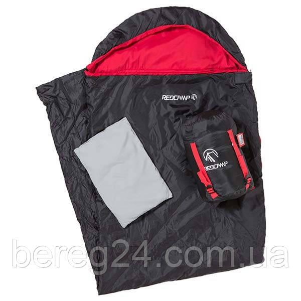 Спальный мешок REDCAMP (220*75 см) с подушкой 1,3 кг