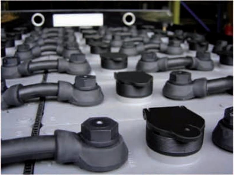 Тяговый аккумулятор для погрузчика Balkancar ЕВ 735
