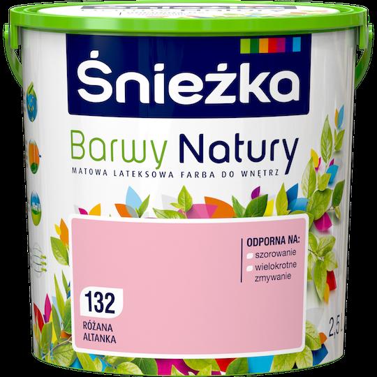 Фарба латексна Sniezka Barwy Natury 132Т РОЖЕВА АЛЬТАНКА  2.5 л