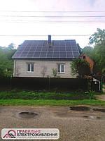 Мережева СЕС 30 кВт у м. Добромиль 1