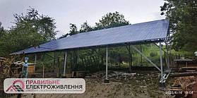 Мережева СЕС 30 кВт у м. Добромиль 2