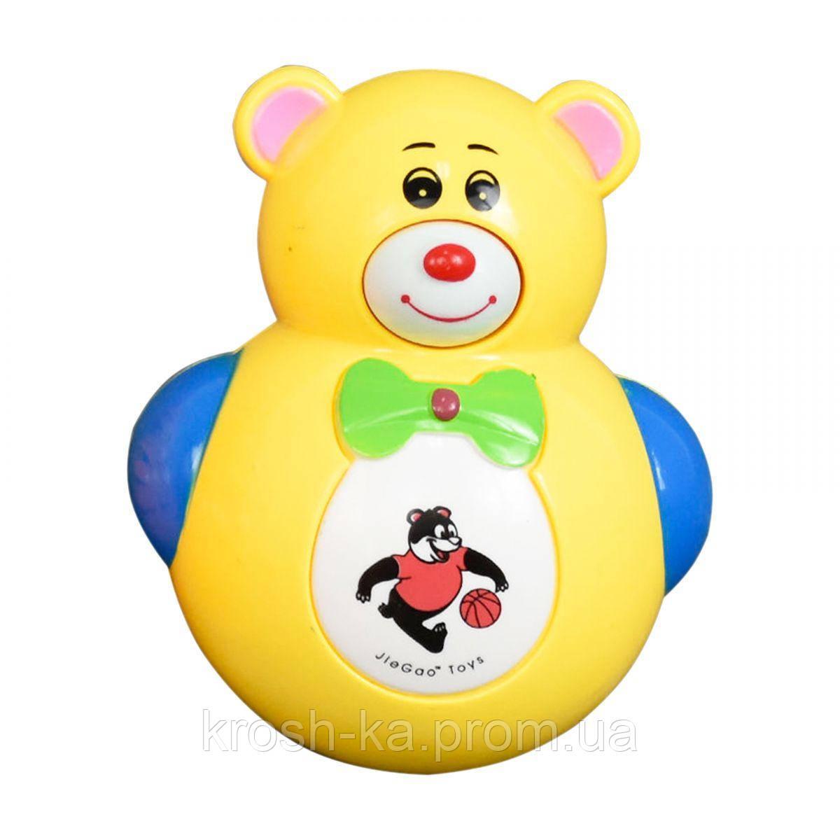 Музыкальная игрушка Неваляшка Мишка Китай 6399